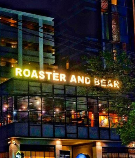 roaster and bear cafe